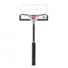 Баскетбольная стационарная стойка ING54U 140*80см