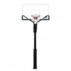 Баскетбольная стационарная стойка ING60U 152*90см