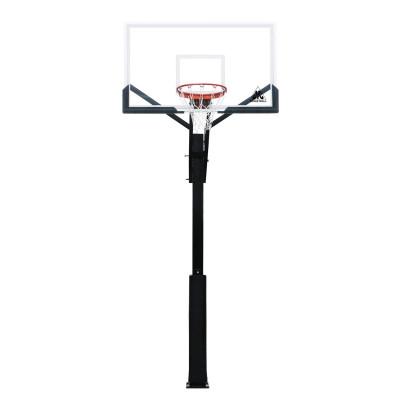Баскетбольная стационарная стойка ING60U 152*90см фотография товара