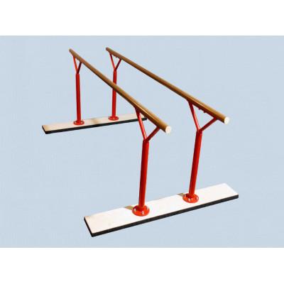Брусья гимнастические тренировочные постоянной высоты фотография товара