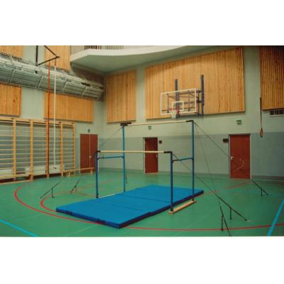 Брусья гимнастические разновысокие (женские) с деревянными жердями фотография товара