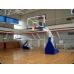 Стойка баскетбольная мобильная складная массовая, вынос 1,6 м фотография товара