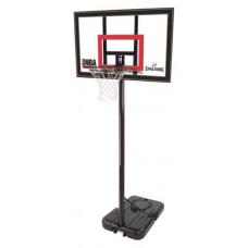 Баскетбольная мобильная стойка SPALDING HIGHLIGHT 42 фотография товара
