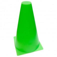 Конус разметочный 16 см зелёный фотография товара