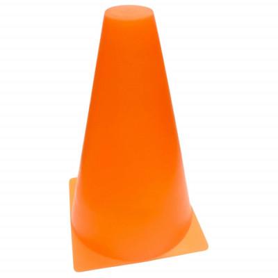Конус разметочный 16 см оранжевый фотография товара