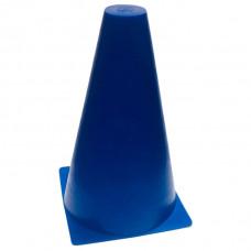 Конус разметочный 16 см синий фотография товара