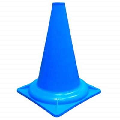 Конус разметочный 32 см голубой фотография товара