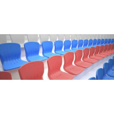 Сиденье для трибуны 30 шт (триколор) фотография товара
