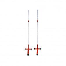 Стойки для прыжков в высоту (усиленные) без планки 2,2 м