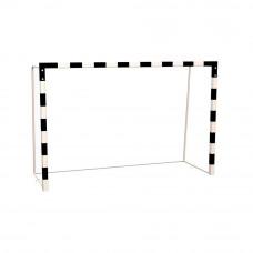 Ворота мини-футбольные/гандбольные, профиль 60х60 мм, на закладных пластинах