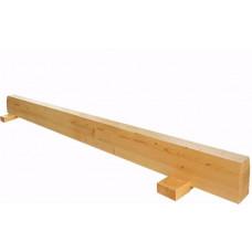 Бревно гимнастическое напольное длина 3м