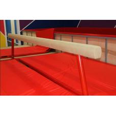 Бревно гимнастическое Олимпийское регулируемое, мягкое