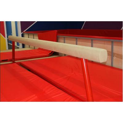 Бревно гимнастическое Олимпийское регулируемое, мягкое фотография товара