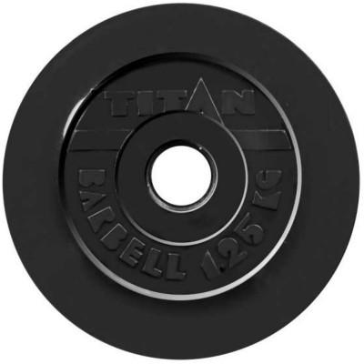 Диск обрезиненный TITAN 1,25 кг, d=51 мм фотография товара