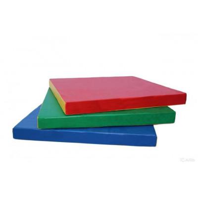 Гимнастический мат 1,2х1,2х0,1 м фотография товара