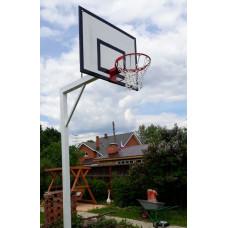 Стойка уличная баскетбольная вынос 120см