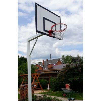 Стойка уличная баскетбольная вынос 120см фотография товара