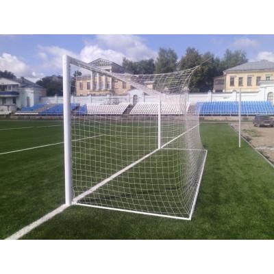 Сетка для футбольных ворот (7,50х2,50 м) 5,0 мм белая фотография товара