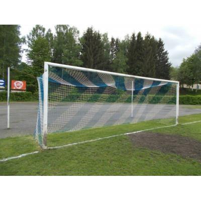 Сетка для футбольных ворот (7,50х2,50 м) 5,0 мм сине-белая фотография товара