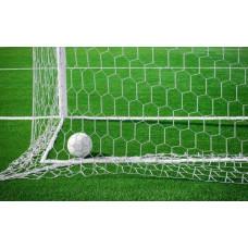 Сетка для футбольных ворот шестигранная 5,0 мм