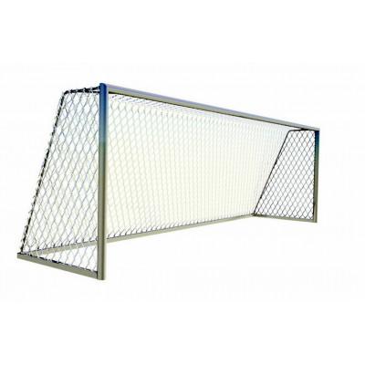 Ворота футбольные переносные 5м х 2м из квадратной трубы фотография товара