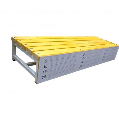 Скамья гимнастическая для измерения гибкости фотография товара