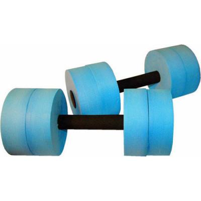 Гантели для аквааэробики круглые (пара) сопротивление 2,5кг фотография товара