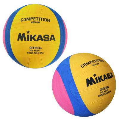 Мяч тренировочный для водного поло Mikasa 3 размера фотография товара