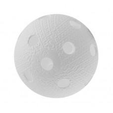 Мяч для игры в флорбол белый