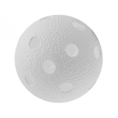 Мяч для игры в флорбол белый фотография товара