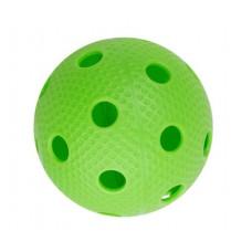 Мяч для игры в флорбол зеленый фотография товара
