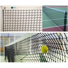 Сетка для большого тенниса 2,2 мм с тросом