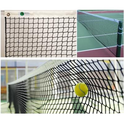 Сетка для большого тенниса 2,2 мм с тросом фотография товара