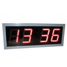Часы-термометр табло электронное для бассейна Кварц-3-Т-У 510х200х60мм фотография товара