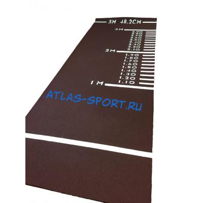 Дорожка для прыжков в длину с места (резина) фотография товара