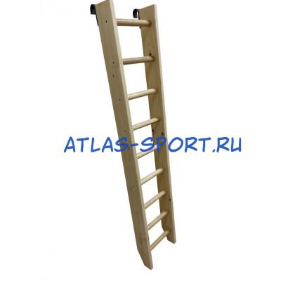 Лестница приставная, с зацепами 2,0 м