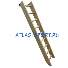 Лестница приставная, с зацепами 2,5 м