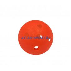 Мяч для игры в флорбол красный