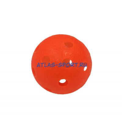 Мяч для игры в флорбол красный фотография товара