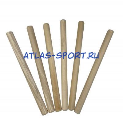 Деревянные палочки для эстафет фотография товара