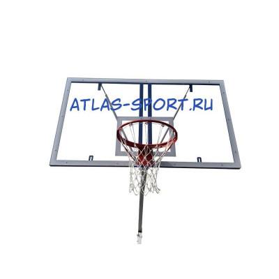 Щит баскетбольный из оргстекла 1,2х0,9м фотография товара