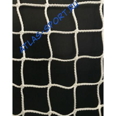 Сетка для хоккейных ворот диаметром 3,0 мм фотография товара