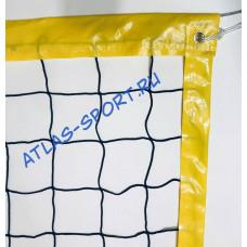 Сетка для пляжного волейбола 3мм с п/э тросом