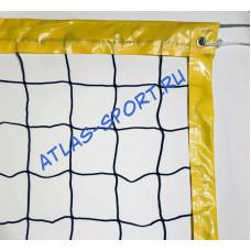 Сетка для пляжного волейбола 3мм с тросом
