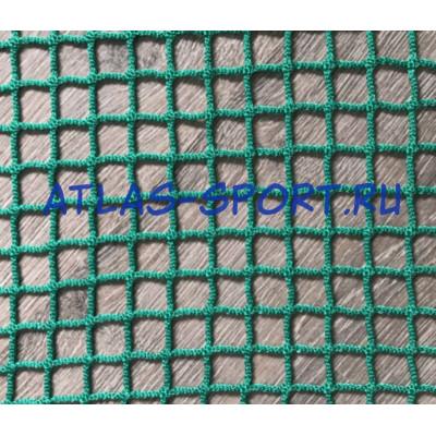 Сетка заградительная 20х20 мм, нить 2,6 мм, зеленая