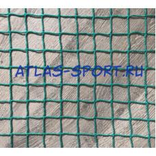 Сетка заградительная 40х40 мм, нить 2,6 мм, зеленая