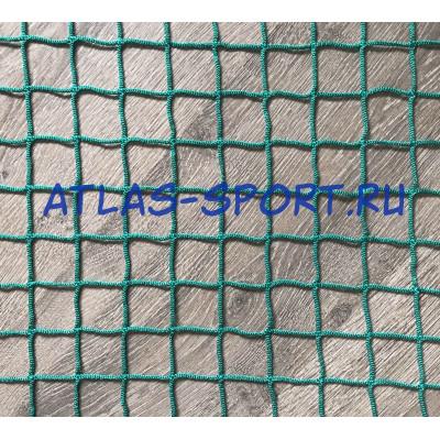 Сетка заградительная 40х40 мм, нить 3,1 мм, зеленая