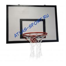 Щит баскетбольный из фанеры, 1,8х1,05м