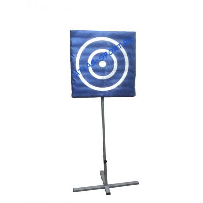 Щит для метания в цель на подставке фотография товара