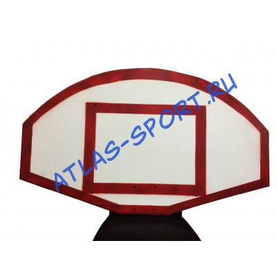 Щит стритбольный из фанеры 1,2х0,9м фотография товара
